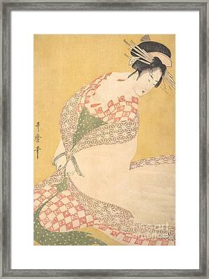 The Outer Robe Framed Print