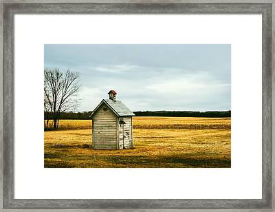 The Outhouse Framed Print