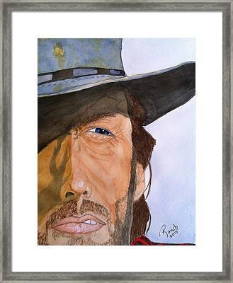 The Outlaw Josey Wales Framed Print