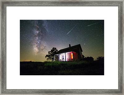 The Outsider Framed Print by Aaron J Groen