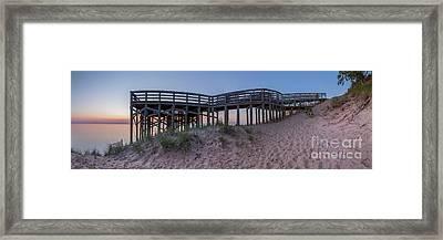 The Overlook At Sleeping Bear Dunes Framed Print