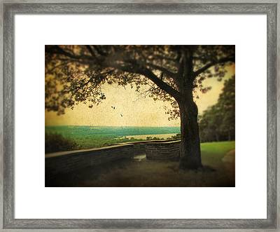 The Overlook Framed Print by Jessica Jenney