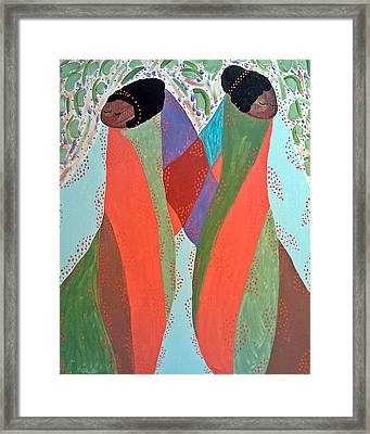 The Overseers Framed Print by Clarissa Burton