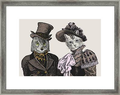 The Owl And The Pussycat Framed Print