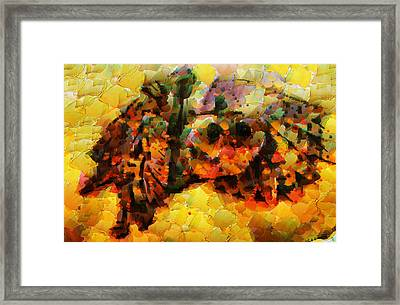 The Owl Will Visit You Soon Framed Print by Sir Josef - Social Critic - ART