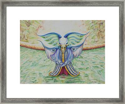 The Ox Framed Print