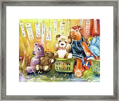 The Oxfam Camel And Teddy Bears Framed Print