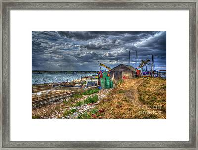 The Oyster Shed Framed Print