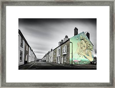 The Oysterman's Daughter Framed Print