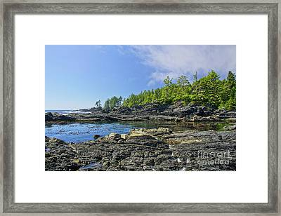 The Pacific Northwest Framed Print by Brian Kamprath