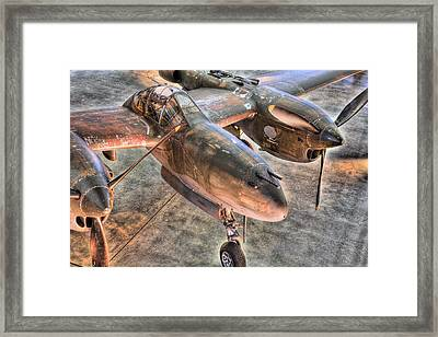 The Pacific Theater Framed Print by JC Findley