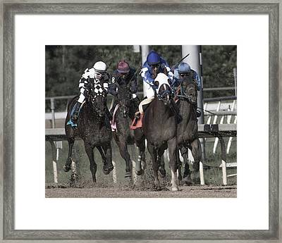 The Pack Framed Print by Betsy Knapp