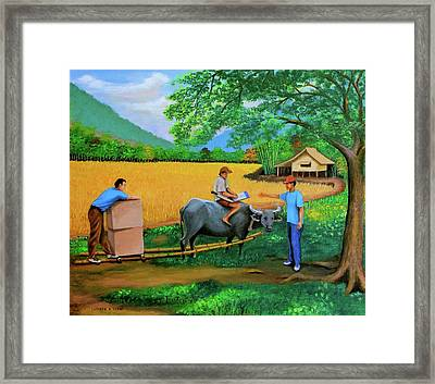 The Package Framed Print