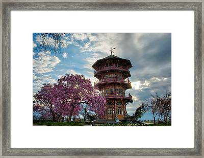 The Pagoda In Spring Framed Print