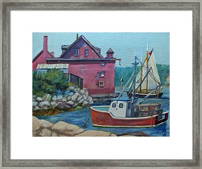The Paint Factory Framed Print