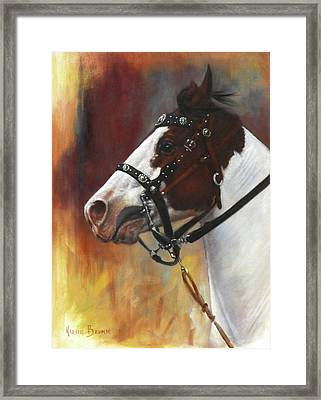 Framed Print featuring the painting The Paint by Harvie Brown