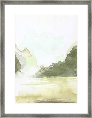 The Painted Veil Framed Print by Jim Green
