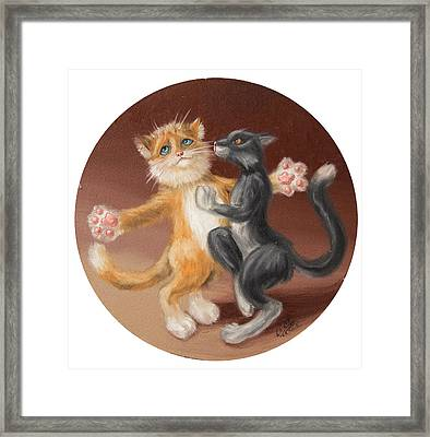 The Painting About Love  Framed Print