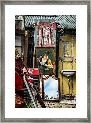 The Painting Framed Print by Marco Oliveira