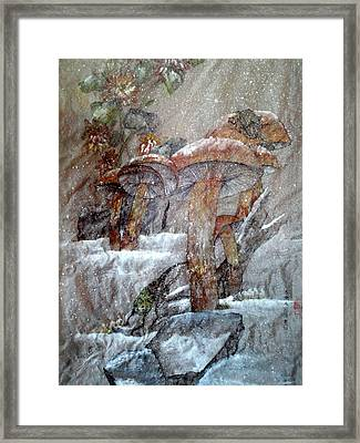 The Painting That Stole My Heart Framed Print by Debbi Saccomanno Chan