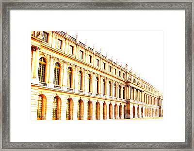 The Palace Framed Print by Amanda Barcon