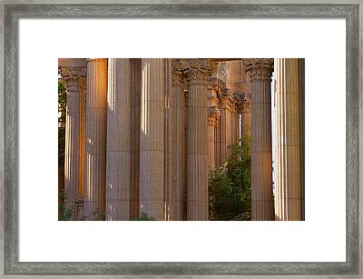 The Palace Columns Framed Print