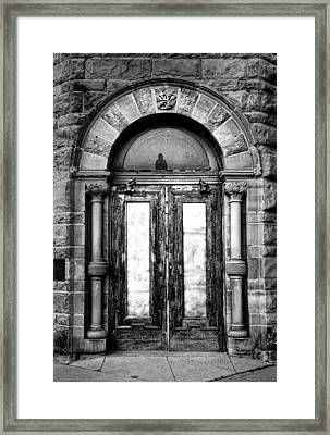 The Palace Doors Framed Print by Fred Lassmann