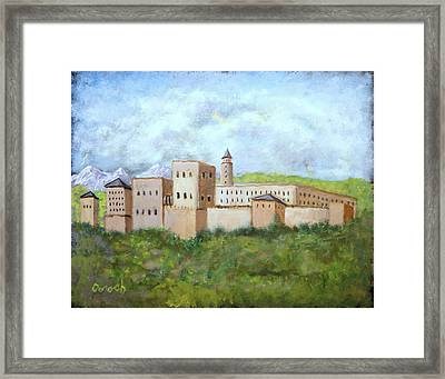 The Palace Framed Print