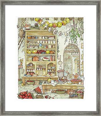 The Palace Kitchen Framed Print by Brambly Hedge