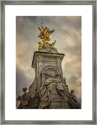The Palace Framed Print by Martin Newman