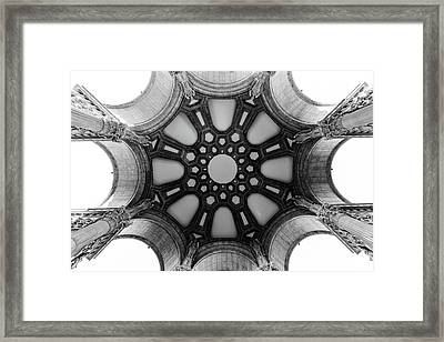 The Palace Of Fine Arts Dome Framed Print