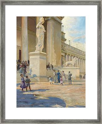 The Palace Of Fine Arts  Framed Print by Edwin Howland Blashfield