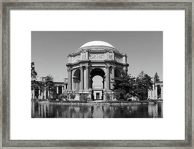 The Palace Of Fine Arts Framed Print by L O C