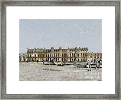 The Palace Of Versailles Framed Print by Amanda Barcon