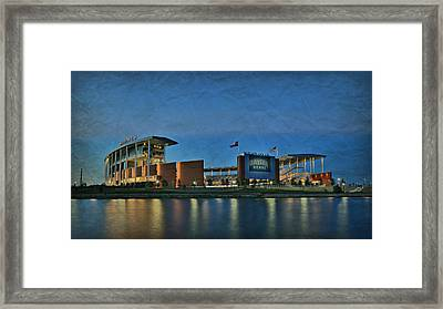 The Palace On The Brazos Framed Print