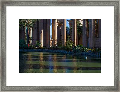 The Palace Pond Framed Print