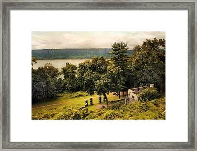 The Palisades Framed Print
