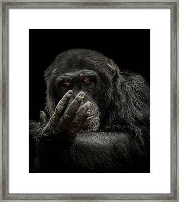 The Palm Reader Framed Print by Paul Neville