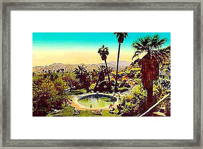 The Palm Springs Tennis Club Framed Print