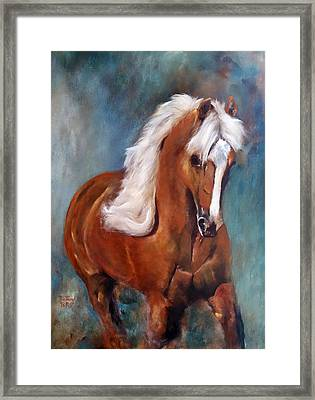 The Palomino 2 Framed Print