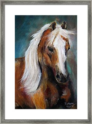 The Palomino I Framed Print