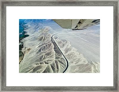 The Pan-american Highway Framed Print