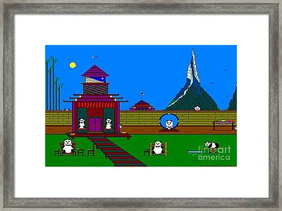 The Pan House. Framed Print by Richard Magin