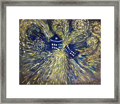The Pandorica Opens Framed Print