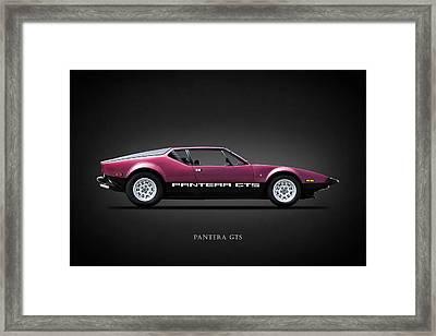 The Pantera Gts Framed Print by Mark Rogan