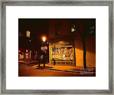 The Paper Unicorn Framed Print by Addie Hocynec