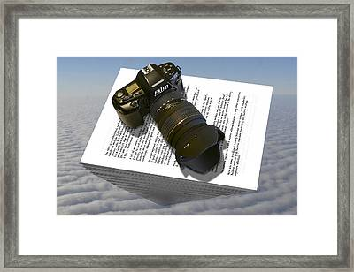 The Paperweight Framed Print by Mike McGlothlen