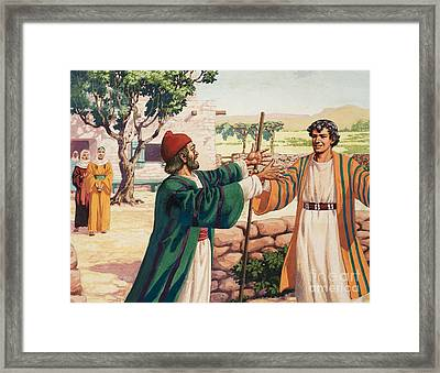 The Parable Of The Prodigal Son Framed Print by Pat Nicolle