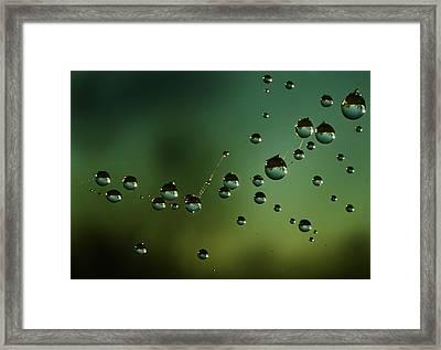 The Parallel Worlds Framed Print by Angel  Tarantella