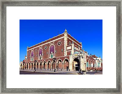 The Paramount Theater In Asbury Park Framed Print by Olivier Le Queinec
